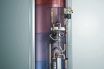 Energie boiler buffervat