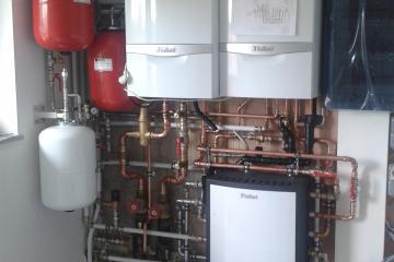 Hybride geothermische- gas installatie Johan Goens