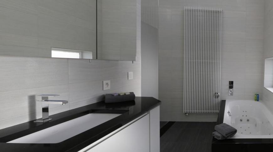 Moderne badkamersintallatie van a tot z
